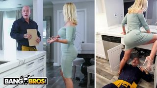 BANGBROS – Nikki Benz Gets Her Pipes Fixed By Plumber Derrick Pierce